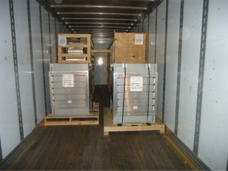ACCESS™ units ship in enclosed trailers with all crates and pallets labeled